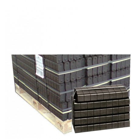 briquettes de lignite demi palette de 20 packs de 44. Black Bedroom Furniture Sets. Home Design Ideas