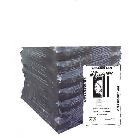 MIXTE 30/50 (50% ANTHRACITE/50% CALORS)DEMI PALETTE DE 20 SACS DE 25 Kg