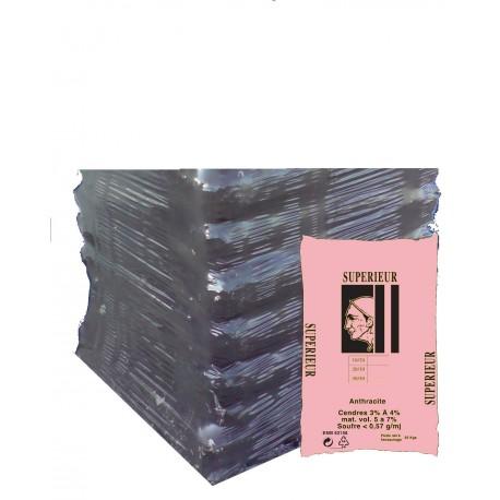 ANTHRACITE PREUSSAG 30/50 DEMI PALETTE DE 20 SACS DE 25 Kg