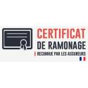 RAMONAGE-VACUITÉ CONDUIT CONVECTEUR-CUISINIÈRE À CHARBON
