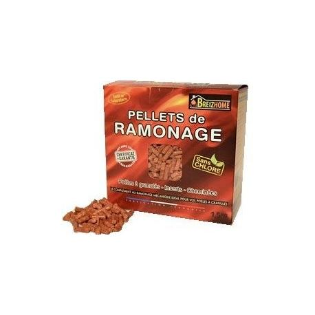 PELLETS DE RAMONAGE BOITE DE 1,5 KILOS